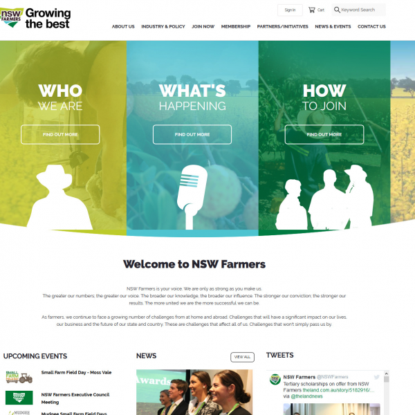 NSW Farmers Website